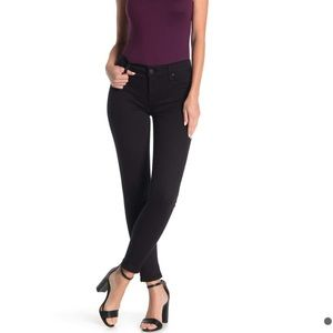 NEW • Hudson • Krista Ankle Skinny Jeans Black 24